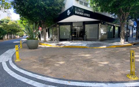 Frente de la clínica Buenos Aires